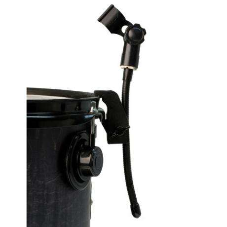 Audix DVICE Flexible mini-gooseneck with rim mounted drum clamp