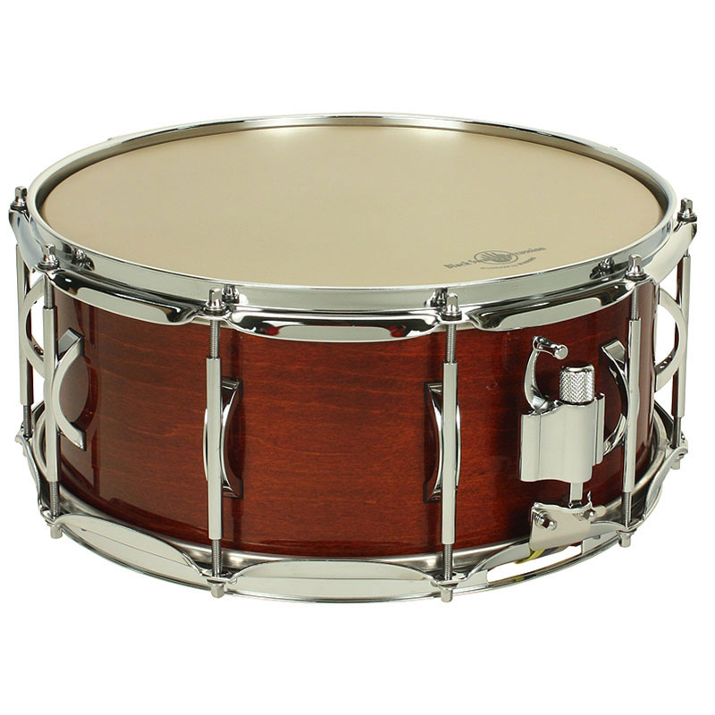"Black Swamp 12"" x 15"" Pro10 Studio 6-Ply Maple Concert Snare Drum"