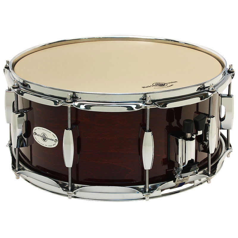 "Black Swamp 6.5"" x 14"" Concert Maple Snare Drum"