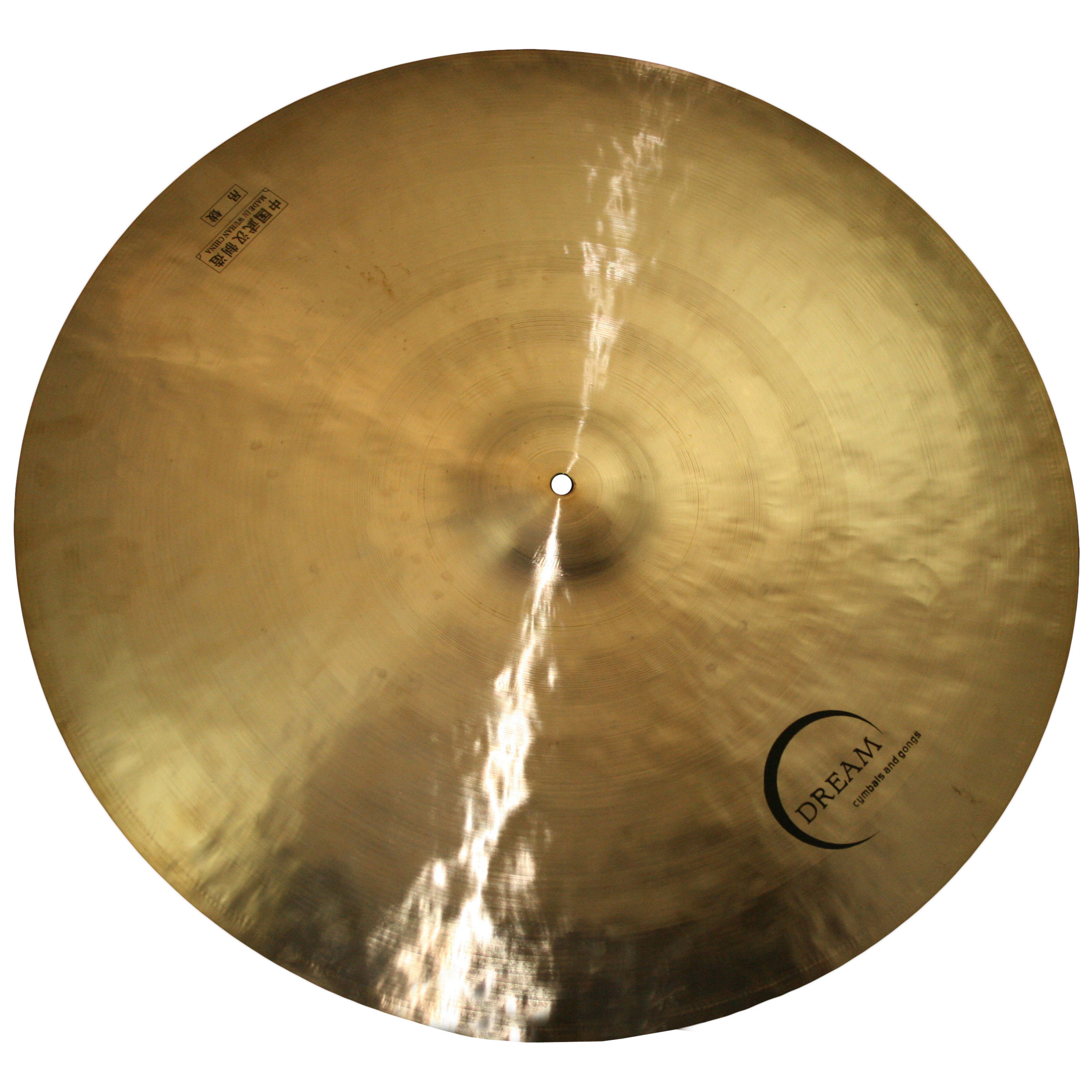 "Dream 24"" Bliss Small Bell Flat Ride Cymbal"