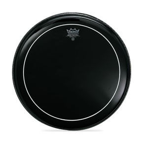 "Remo 6"" Pinstripe Ebony Drum Head"