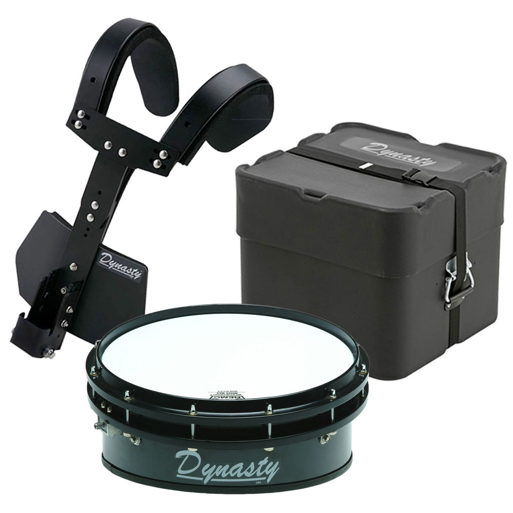 dynasty 14 dfx wedge drum t max carrier case marching snare drum bundle ms xw14mc. Black Bedroom Furniture Sets. Home Design Ideas