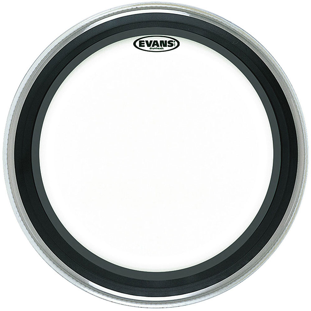 "Evans 18"" EMAD Clear Bass Head"