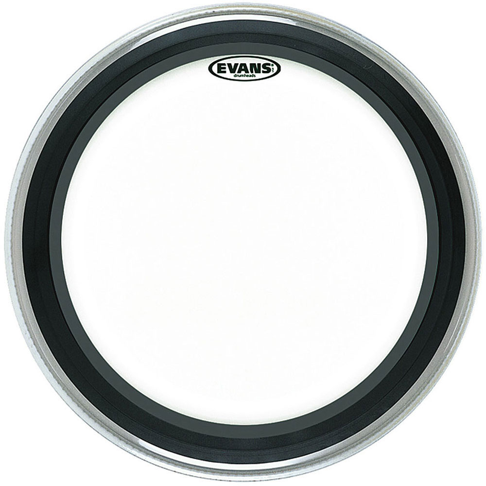 "Evans 24"" EMAD Clear Bass Head"