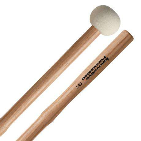 Innovative Percussion FB-2 Field Series Fulcrum-Notch Marching Bass Drum Mallets