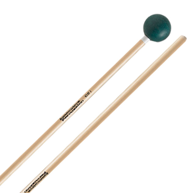 Innovative Percussion Medium Soft Xylophone /Bell Mallets, White Tape