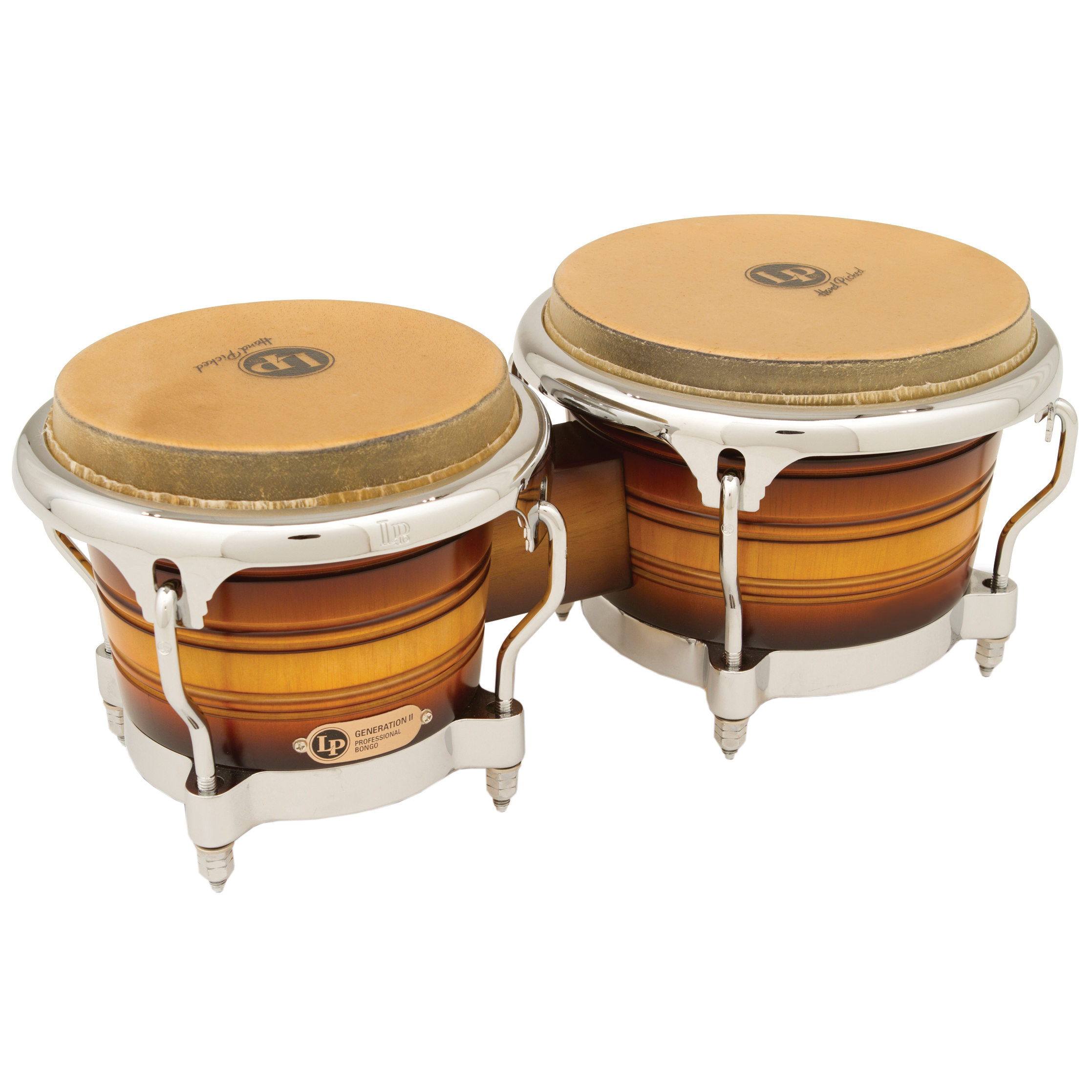 LP Generation II Bongos with Comfort Curve Rims