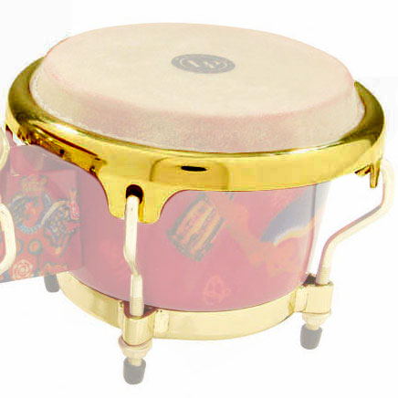 "LP 3 1/2"" Mini Bongo Rim, Gold"