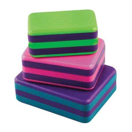 LP Plastic Box Shakers, Set Of 3