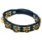 Alternate Image for LP Black Cyclops Double Row Dimpled Brass Tambourine