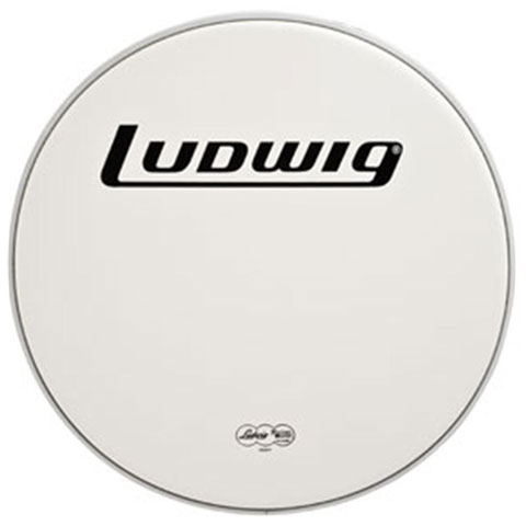 "Ludwig 13"" Heavy White Tom Head"