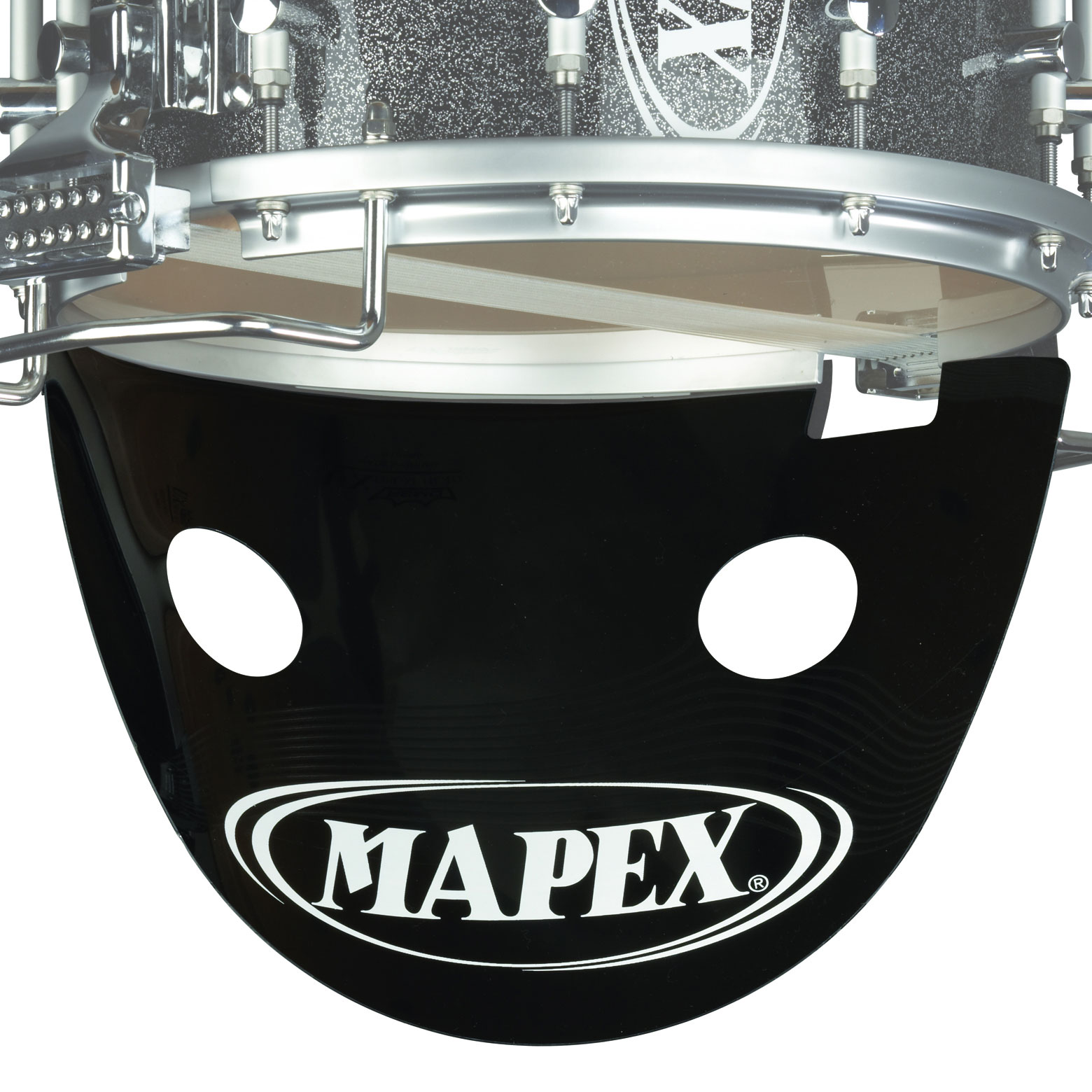 "Mapex 14"" Black Snare Drum Projector with Mapex Logo"