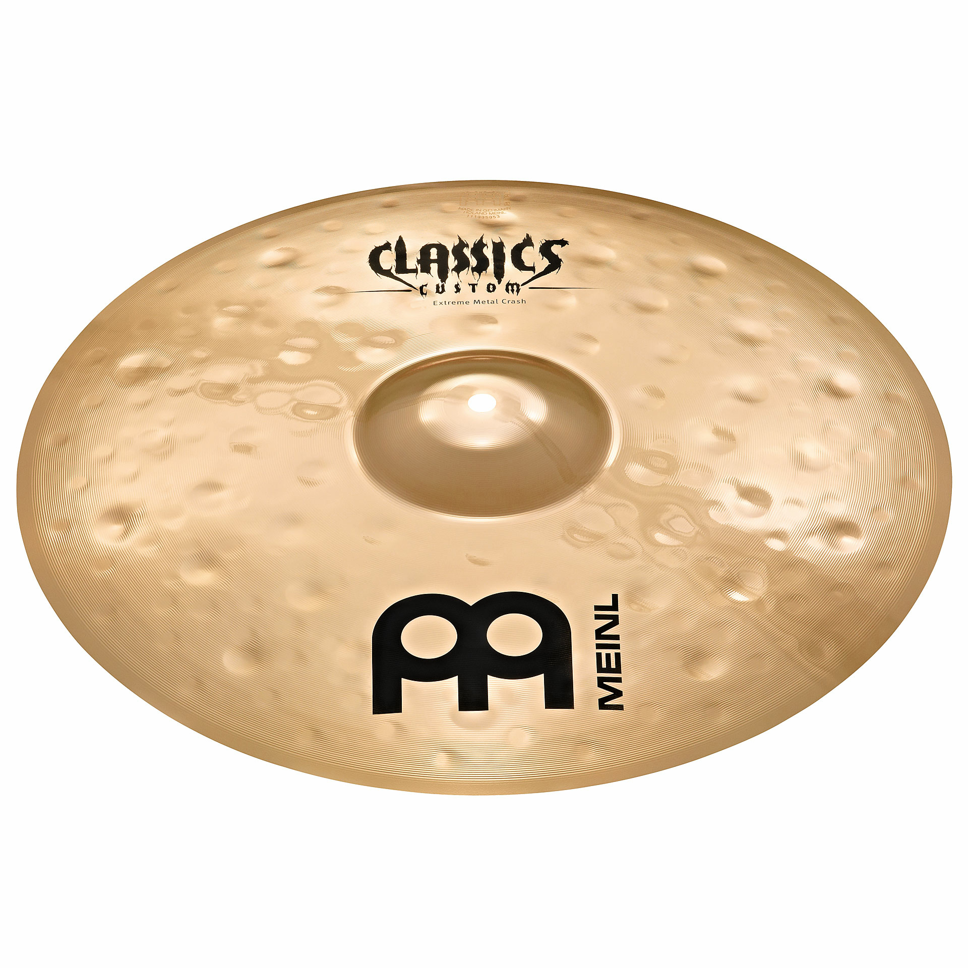 "Meinl 17"" Classics Custom Extreme Metal Crash Cymbal"