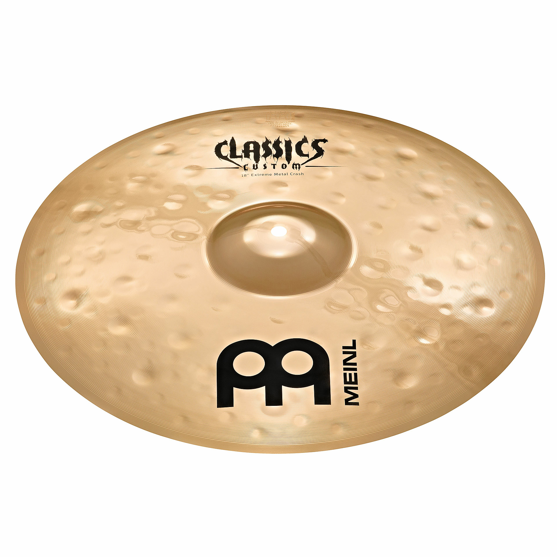 "Meinl 18"" Classics Custom Extreme Metal Crash Cymbal"
