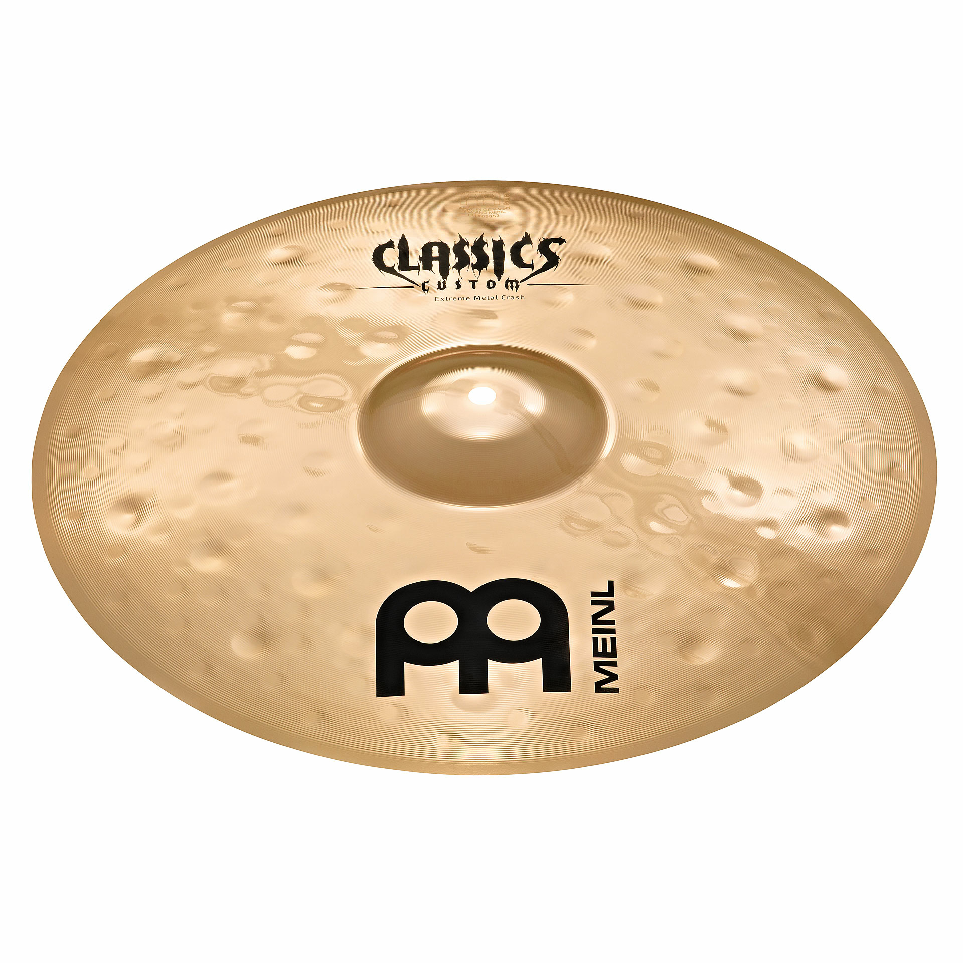 "Meinl 19"" Classics Custom Extreme Metal Crash Cymbal"