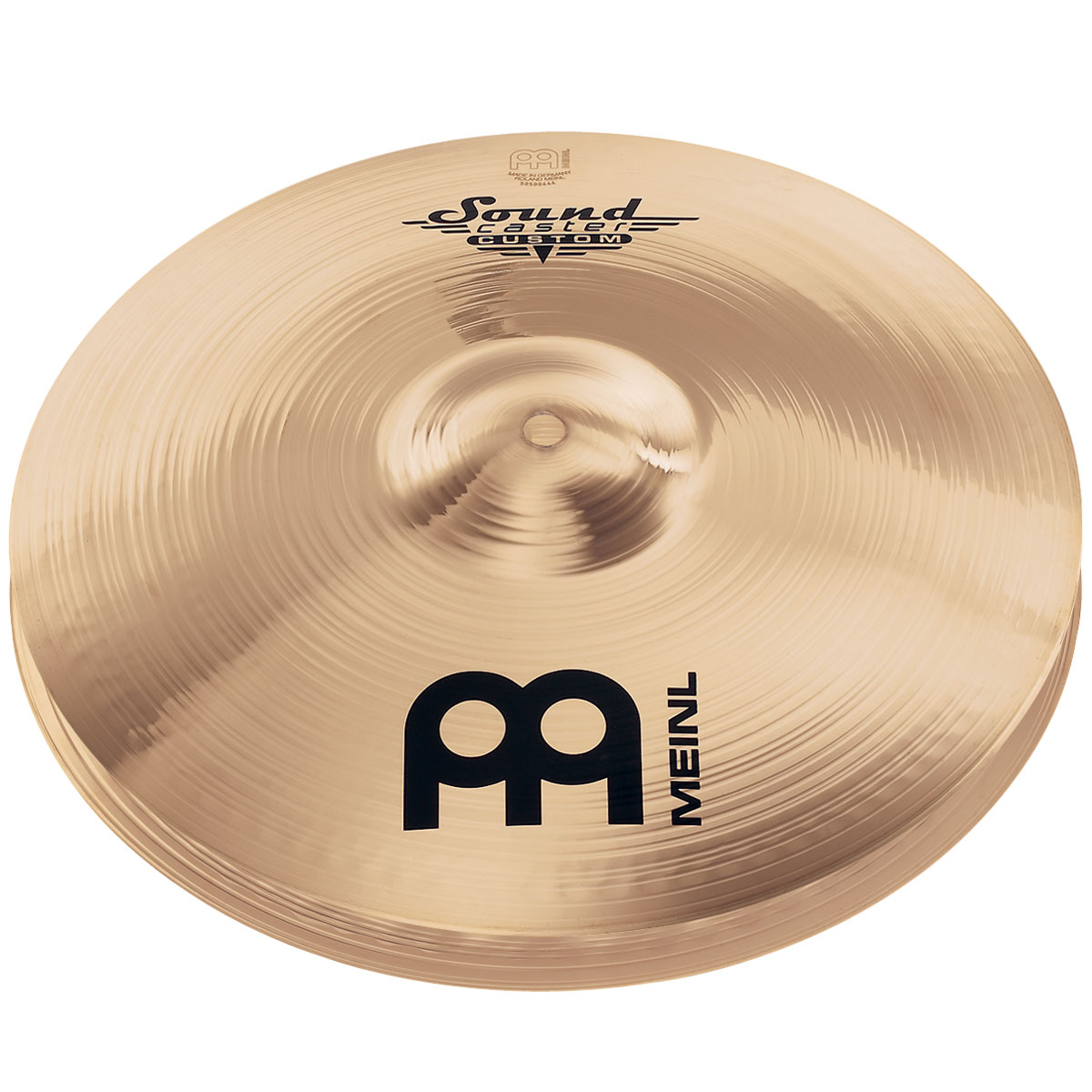 "Meinl 14"" Soundcaster Custom Powerful Hi Hat Cymbals"