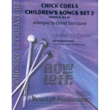 Chick Corea Children's Songs Set 2 by Chick Corea arr. Steinquest