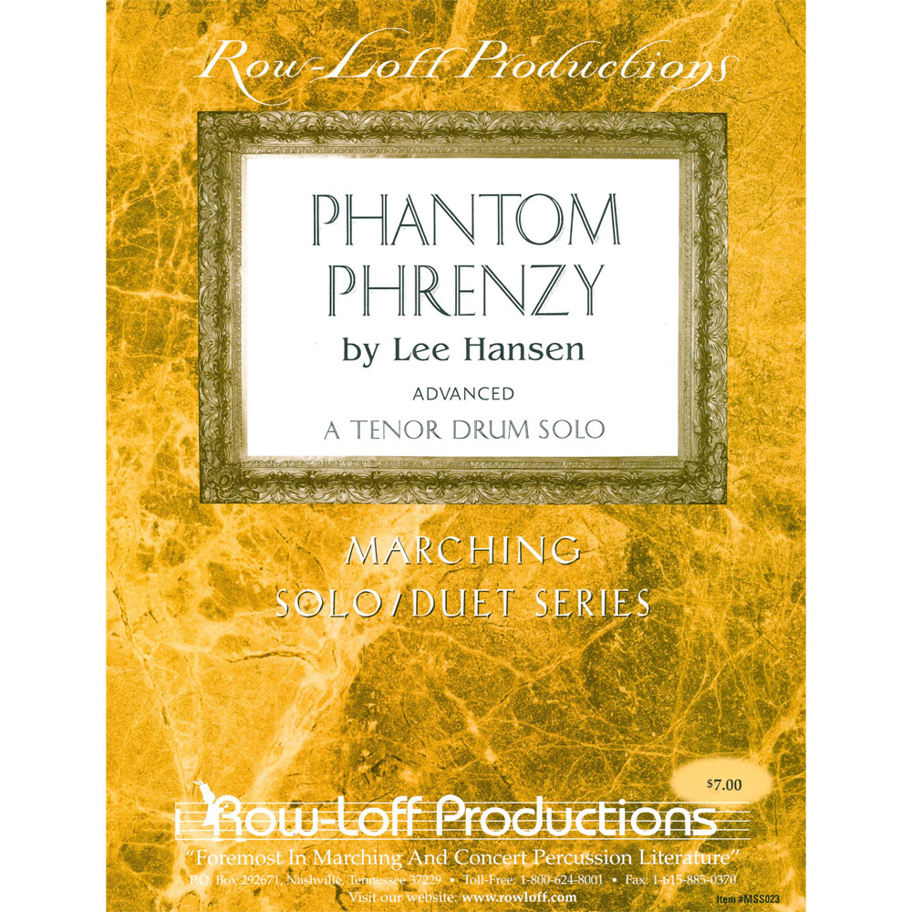 Phantom Phrenzy (Tenors) by Marty Hurley arr. Lee Hansen