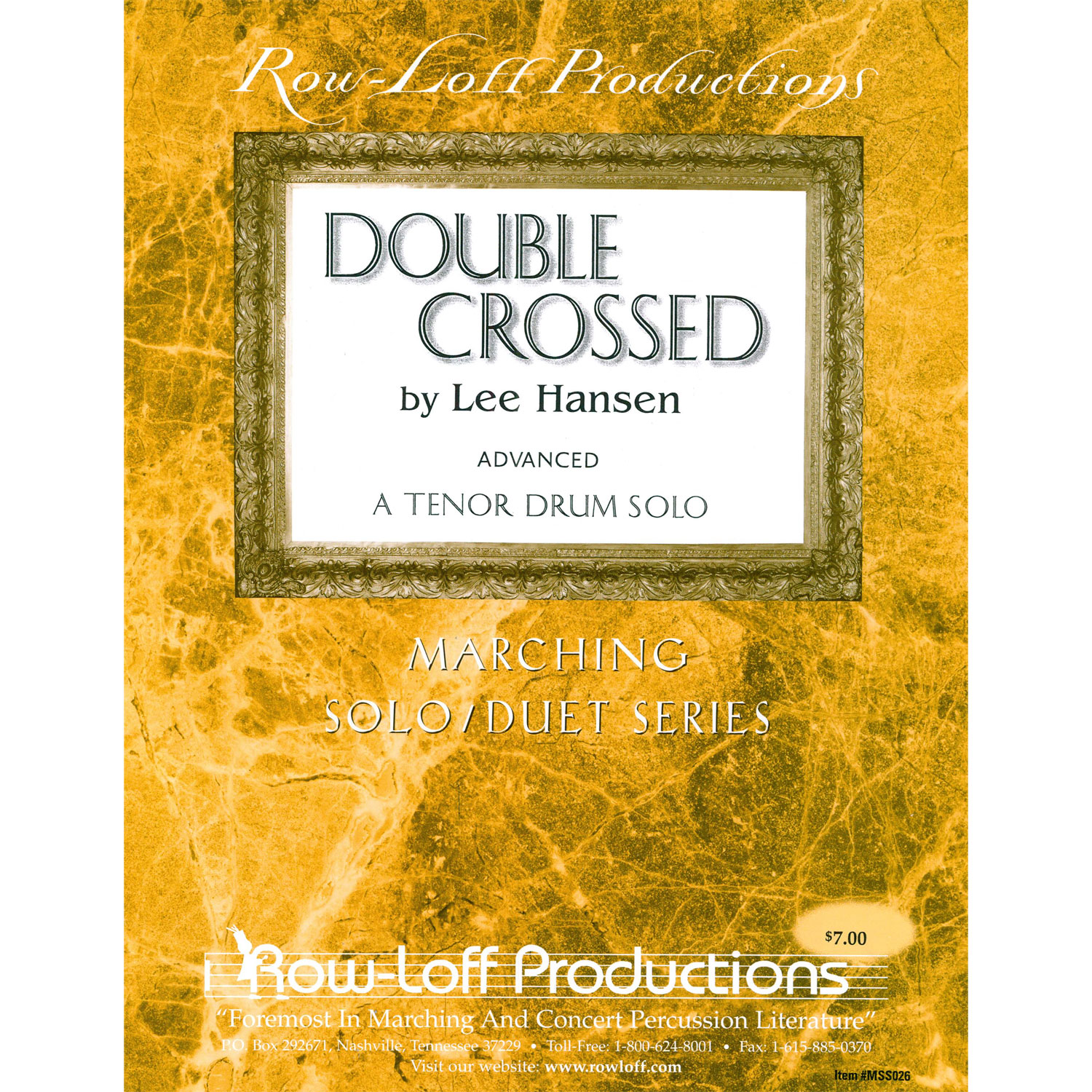 Double Crossed by Lee Hansen
