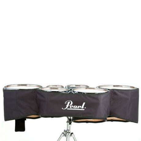 Pearl Small Gray Marching Tenors Cover