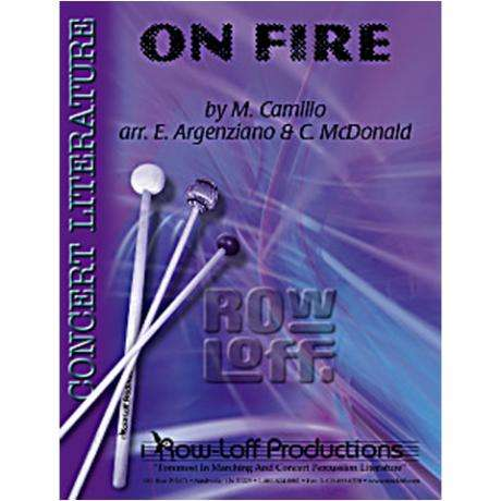 On Fire by Camilo arr. Ed Argenziano