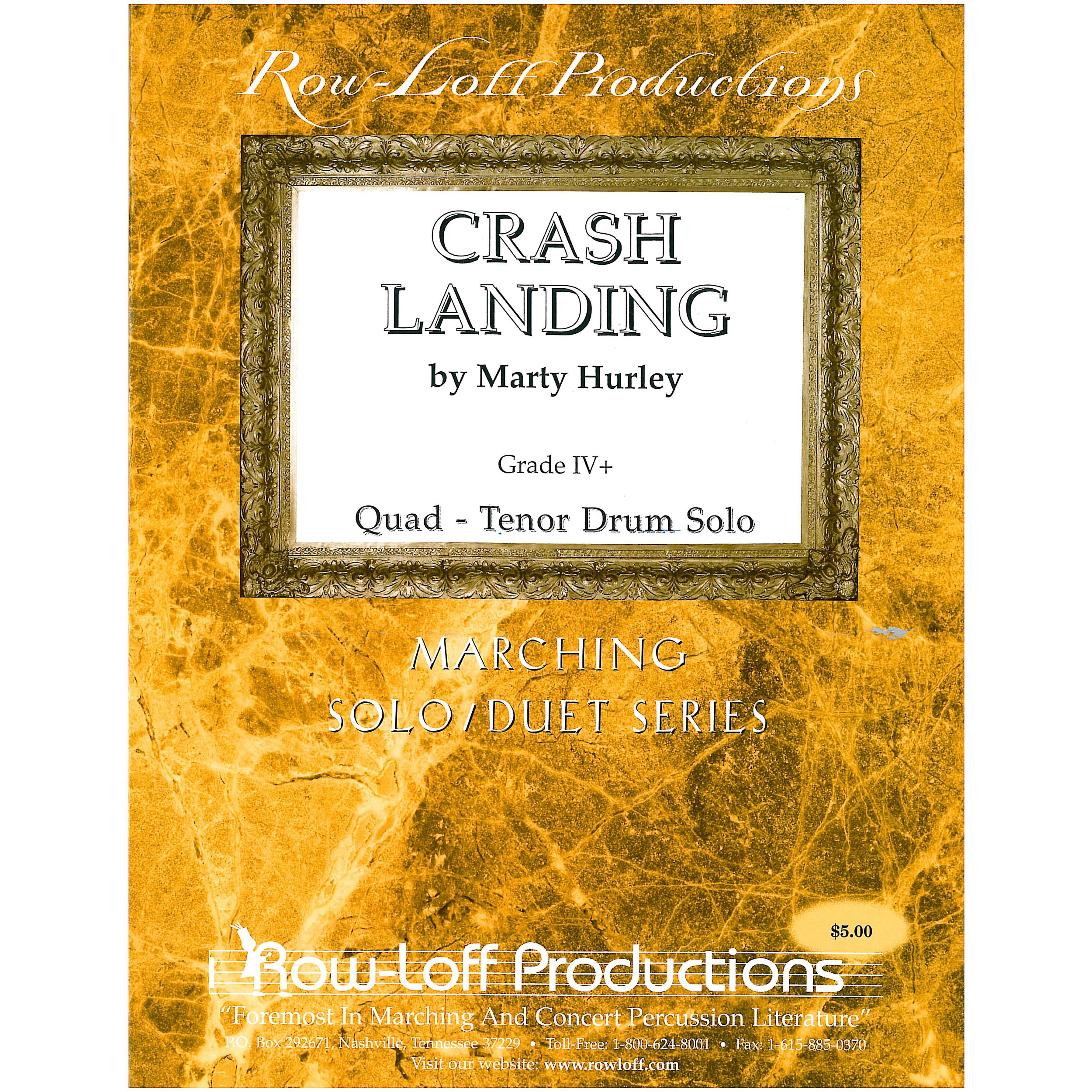 Crash Landing: A Tenor Drum Solo by Marty Hurley