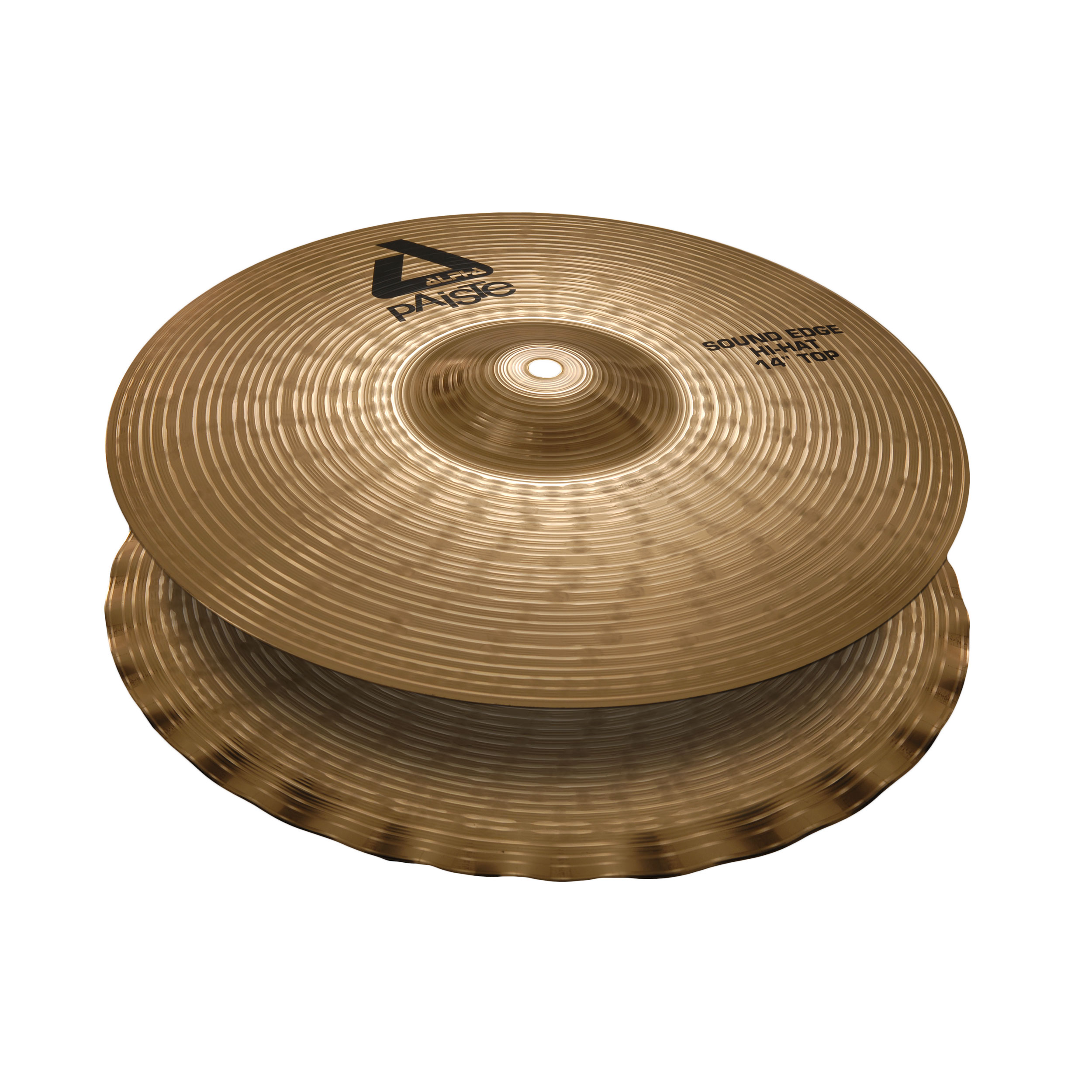 "Paiste 14"" Alpha B Sound Edge Hi Hat Cymbals"