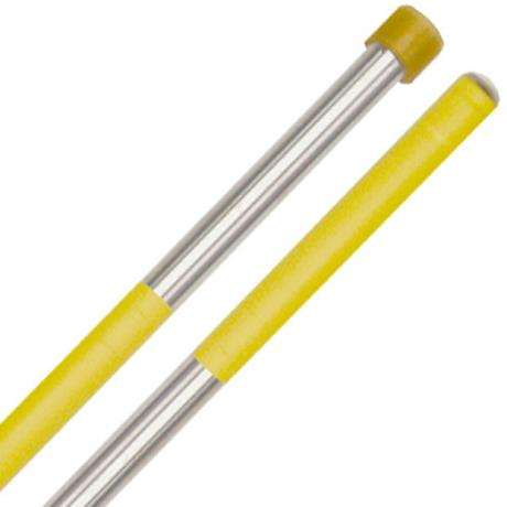 Panyard Rainbow Series Soft Double Second Steel Drum Mallets - Yellow