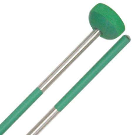 Panyard Steel Drum Rainbow Series Tenor Bass Mallet Tips - Green