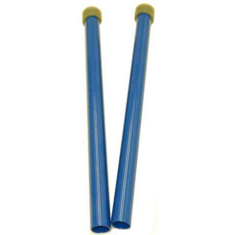 Panyard Powder Coated Medium Soft Lead Steel Drum Mallets - Blue