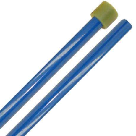 Panyard Powder Coated General Double Tenor Steel Drum Mallets - Blue