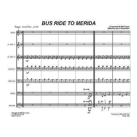 Bus Ride to Merida by Bert Ligon