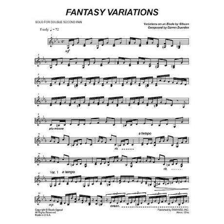 Fantasy Variations by Darren Duerden