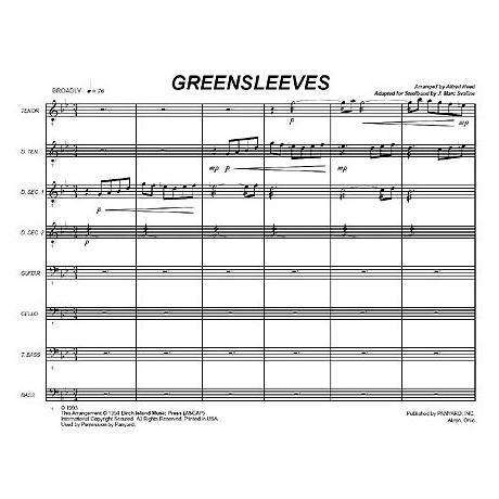 Greensleeves arr. Alfred Reed