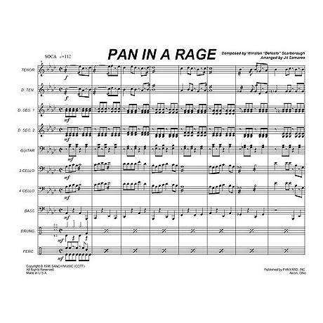 Pan in a Rage by Winston