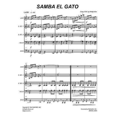 Samba el Gato by Shelly Irvine
