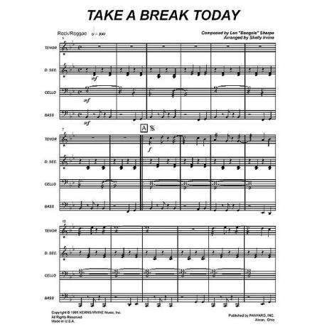 Take a Break Today by Len