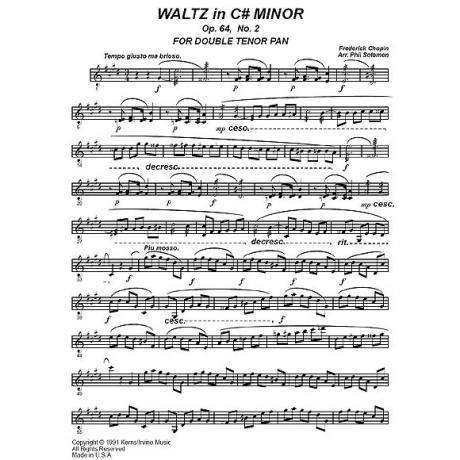 Waltz in C# Minor Op. 64. No. 2 by Chopin arr. Phil Solomon