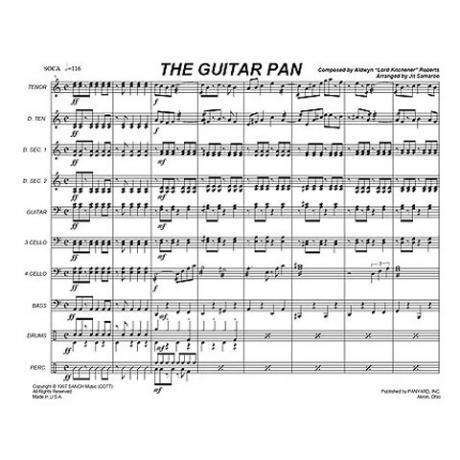 The Guitar Pan by Aldwyn