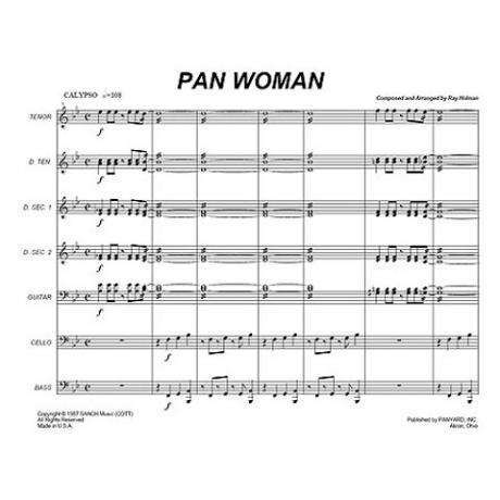 Pan Woman by Ray Holman arr. Tom Miller