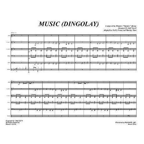 Music (Dingolay) by Jeff Narell arr. Shelly Irvine & Murray Mast
