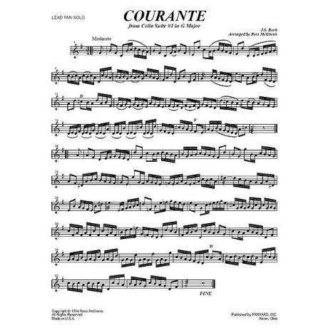 Cello Suite No. 1 in G Major - Courante by J. S. Bach