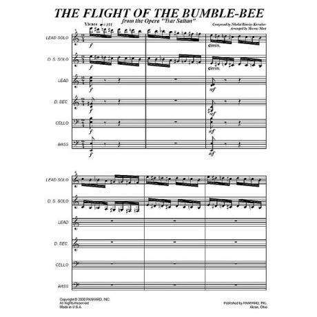 Flight of the Bumble Bee by Rimsky-Korsakov arr. Murray Mast