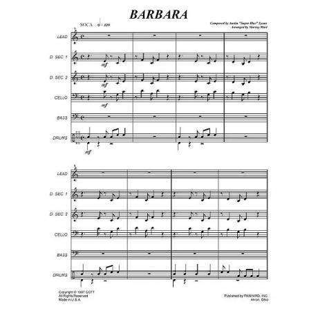 Barbara by Superblue arr. Murray Mast