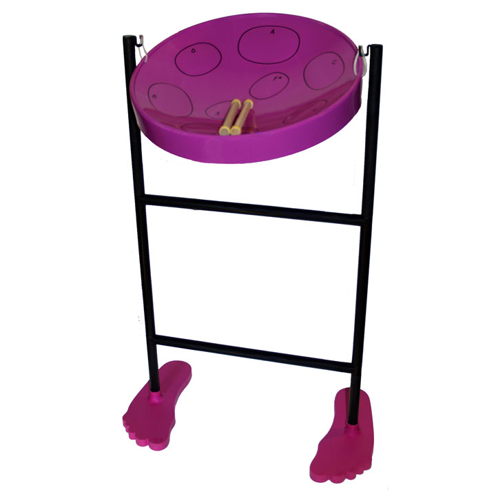 Panyard Jumbie Jam Steel Drum Kit Purple
