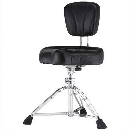 Pearl Motorcycle Seat Drum Throne with Backrest