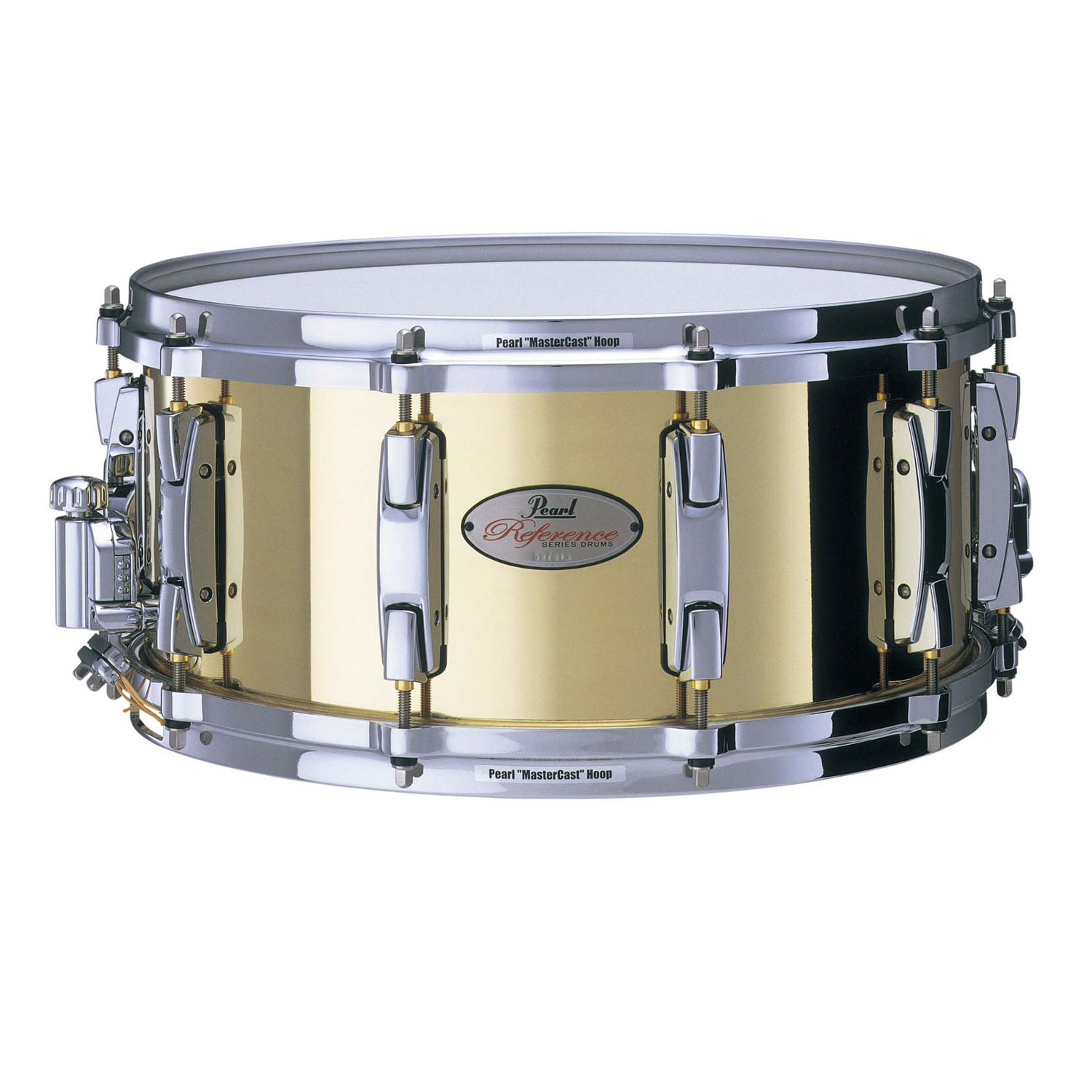"Pearl 14"" x 6.5"" 3mm Brass Snare Drum"
