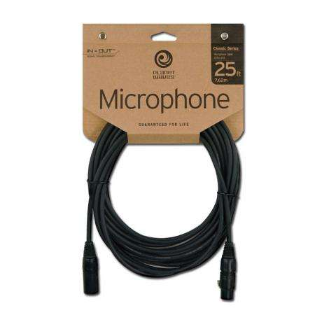 Planet Waves 25' Classic Microphone Cable