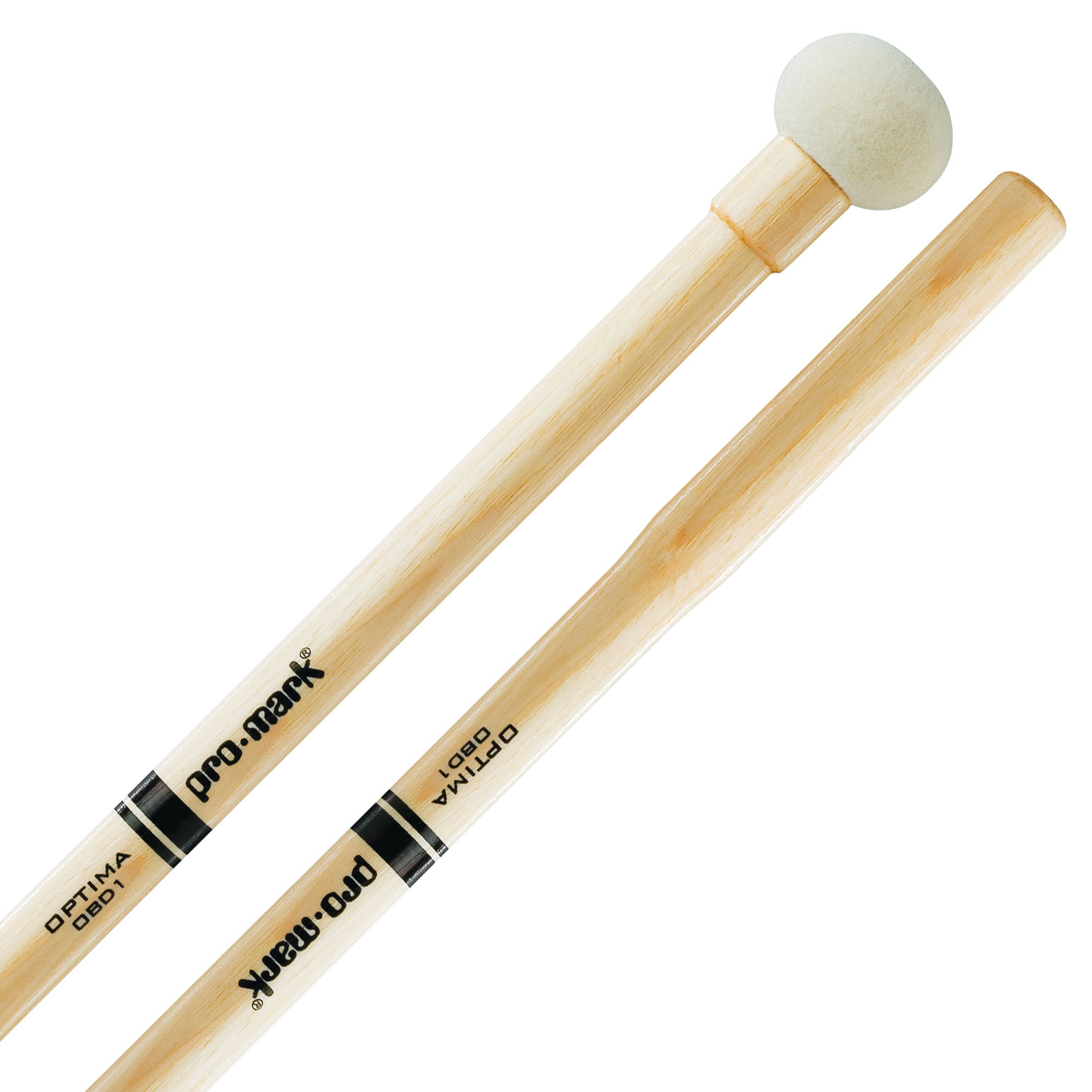 Promark OBD1 Optima Small Marching Bass Drum Mallets