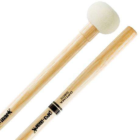 Promark OBD3 Optima Medium Marching Bass Drum Mallets